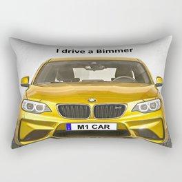 A Bimmer car Rectangular Pillow
