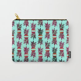 Pineapple Pattern Carry-All Pouch
