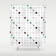 six mousquetaires Shower Curtain