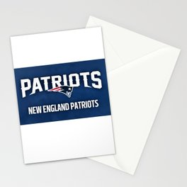 Patriots Banner Stationery Cards