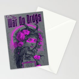 The War On Drugs Stationery Cards