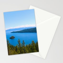 Emerald Bay Overlook Stationery Cards