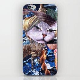 THE त्रिमूर्ति 'S CAT iPhone Skin