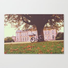 Manor Bike ride Canvas Print