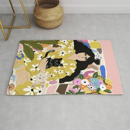 Life with cats Rug