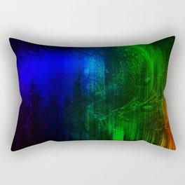 Supellex varia cogitare / Think colourful Rectangular Pillow