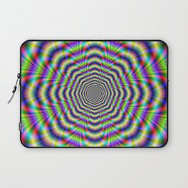 Psychedelic Octagon Pulse Laptop Sleeve