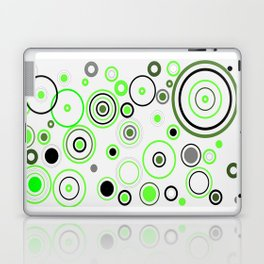 Green&Black combination Laptop & iPad Skin