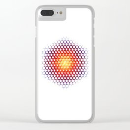 Solcryst Clear iPhone Case