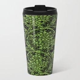 Greenery Lace Travel Mug