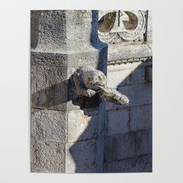 Gargoyle tower of Belem Poster