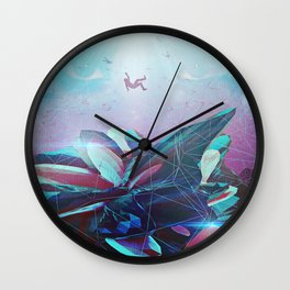 (Be)come Weightless Wall Clock