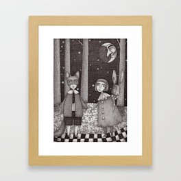 Hansel and Gretel Framed Art Print