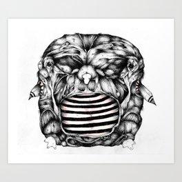 Width Owl- from new zine Art Print