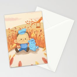 Blue Baby Stationery Cards