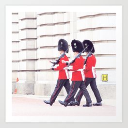 London Walk Art Print