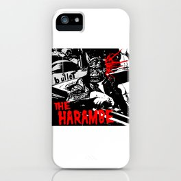 The Harambe iPhone Case