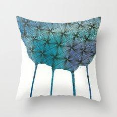 Zentangle Drip Throw Pillow