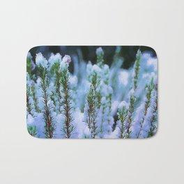 Snowy bush Bath Mat