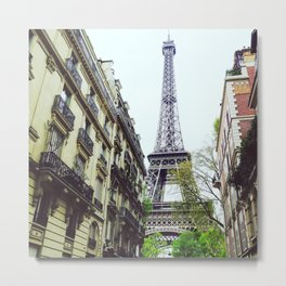 Eiffel tower surprise Metal Print
