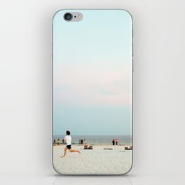 Running Beach iPhone Skin