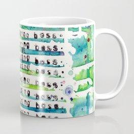 I'M THE FUCKING BOSS. Coffee Mug