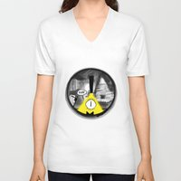gravity falls V-neck T-shirts featuring Gravity Falls- Dreamscape by merrigel