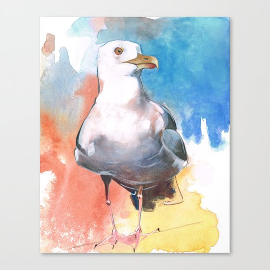 Seagull II Canvas Print
