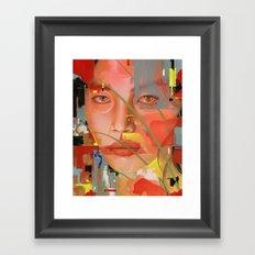 Expressions I Framed Art Print