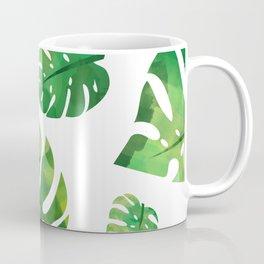 Monstera Plant Coffee Mug