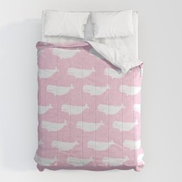 Pink Belugas Comforters