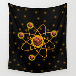 Atomic Structure Wall Tapestry