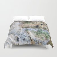 swallow Duvet Covers featuring Swallow Grotto by Jennifer Stinson