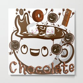 Hot Chocolate! Metal Print