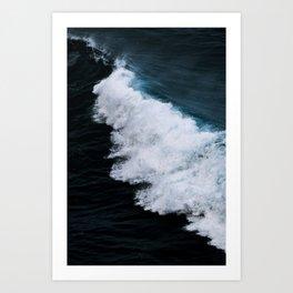 Powerful breaking wave in the Atlantic Ocean - Landscape Photography Art Print