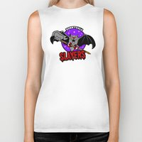 buffy Biker Tanks featuring  Slayers by Buby87