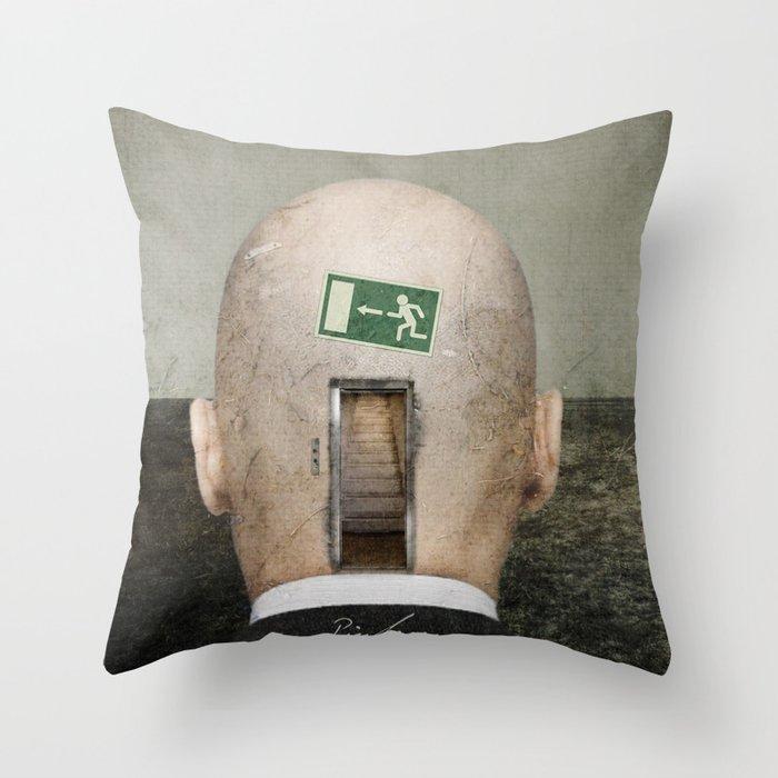Seven Levels Throw Pillow