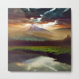BEAUTIFUL WORLD2 Metal Print