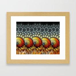 Billow - Abstract Fractal Artwork Framed Art Print