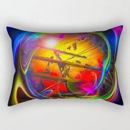 Saling Romance 2 Rectangular Pillow