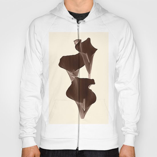 Brown Calla Lilly. Hoody