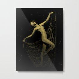 Deco Goddess Metal Print