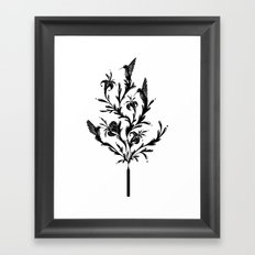 Fluid Bloom Framed Art Print
