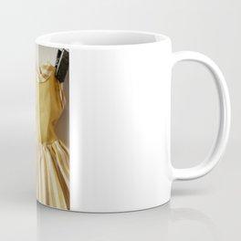Doll Closet Series - Mustard Stripe Dress Coffee Mug