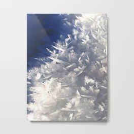 Cloud of ice crystals Metal Print