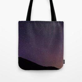 Teide by Night Skies Tote Bag