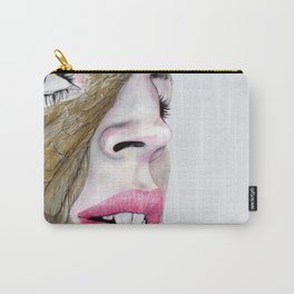 feather's eye Carry-All Pouch