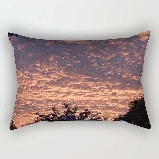 Atmospherics Number 2: Sunset from Costco San Dimas Rectangular Pillow