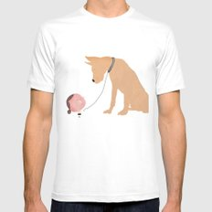 My pet MEDIUM White Mens Fitted Tee