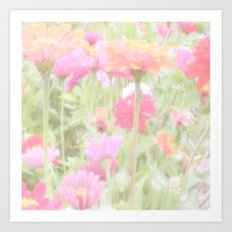 Prettiest Pink  Art Print